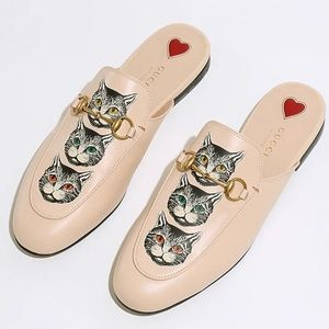 Brand New Gucci Princeton Mule Cats